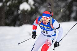 March 9, 2019 - –Stersund, Sweden - 190309 Damir Rastic of Serbia competes in the Men's 10 KM sprint during the IBU World Championships Biathlon on March 9, 2019 in Östersund..Photo: Petter Arvidson / BILDBYRÃ…N / kod PA / 92252 (Credit Image: © Petter Arvidson/Bildbyran via ZUMA Press)