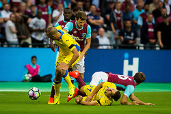 Players during 2nd Leg football match between West Ham United FC and NK Domzale in 3rd Qualifying Round of UEFA Europa league 2016/17 Qualifications, on August 4, 2016 in London, England.  Photo by Ziga Zupan / Sportida