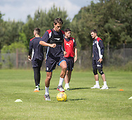 Dundee new boy Danny Williams -  Dundee FC pre-season training at Dundee University Grounds, Riverside<br /> <br />  - &copy; David Young - www.davidyoungphoto.co.uk - email: davidyoungphoto@gmail.com