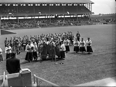 Interprovincial Railway Cup Hurling Final, .Opening of new stand at croke park,..07.06.1959, 06.17.1959, 7th June September,