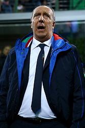 November 13, 2017 - Milan, Italy - Italy coach Giampiero Ventura at San Siro Stadium in Milan, Italy on November 13, 2017. (Credit Image: © Matteo Ciambelli/NurPhoto via ZUMA Press)