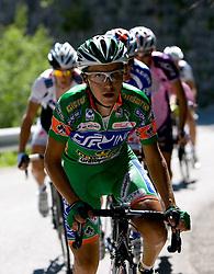 Domenico Pozzovivo (ITA) of CSF Group - Navigare at 1st stage of Tour de Slovenie 2009 from Koper (SLO) to Villach (AUT),  229 km, on June 18 2009, in Koper, Slovenia. (Photo by Vid Ponikvar / Sportida)