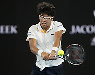 HYEON CHUNG (KOR)<br /> <br /> Tennis - Australian Open 2018 - Grand Slam / ATP / WTA -  Melbourne  Park - Melbourne - Victoria - Australia  - 26 January 2018.