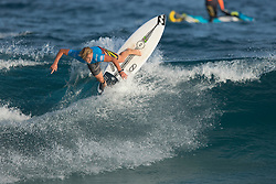 Finn McGill of Hawaii winning the final of the Jeep World Junior Championship at Kiama.