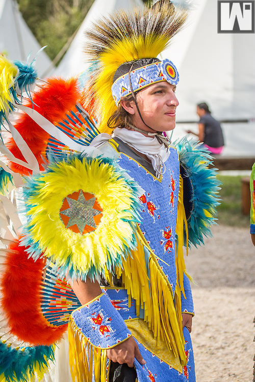 Native American Dancers at Cheyenne Frontier Days.