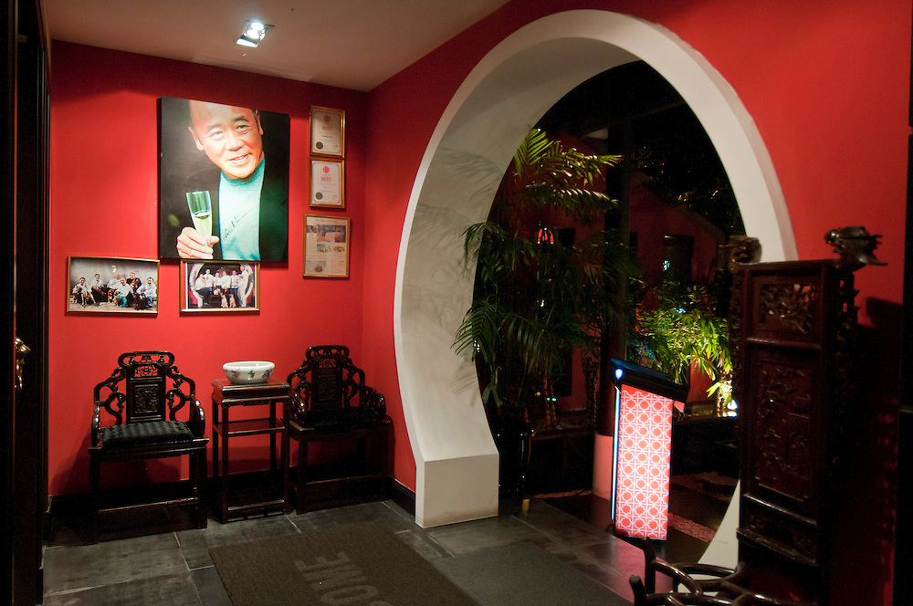 Maison Chin restaurant in Bangkok founded by Celebrity Chef Ken Hom and Chef Pop, Bangkok, Thailand.