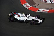 Lance Stroll of Williams Martini  during the practice session for the 2017 Monaco Formula One Grand Prix at the Circuit de Monaco, Monte Carlo<br /> Picture by EXPA Pictures/Focus Images Ltd 07814482222<br /> 25/05/2017<br /> *** UK & IRELAND ONLY ***<br /> <br /> EXPA-EIB-170525-0173.jpg