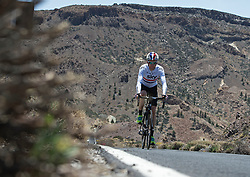 F.A.O Lisa McCLean Daily Telegraph picture desk. ©Ben Cawthra. 19/05/2012. Tenerife, Spain. Three time Olympic gold medalist, cyclist Bradley Wiggins training on the roads surrounding the volcanic island of Tenerife in Spain. Photo credit: Ben Cawthra