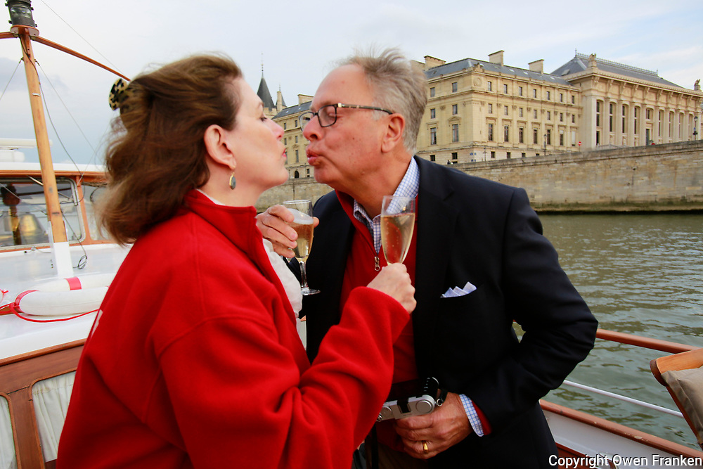 04-Paris visit-Lynn, Peter, Champagne on Petrus