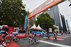 Jessica Pratt (AUS) is the first CANYON//SRAM Racing finisher on Stage 4 of 2020 Santos Women's Tour Down Under, a 42.5 km road race in Adelaide, Australia on January 19, 2020. Photo by Sean Robinson/velofocus.com