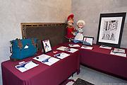 """""""Marionnettes et bistronomie"""" UNE MAISON POUR LE 11e ART Soirée bénéfice de Casteliers pour le projet de la Maison internationale des arts de la marionnette, la MIAM, sous la présidence d'honneur de la soprano, Madame Sharon Azrieli. -  l'édifice historique Gaston Miron du Conseil des arts de Montréal.  / Montreal / Canada / 2017-11-09, © Photo Marc Gibert / adecom.ca"""