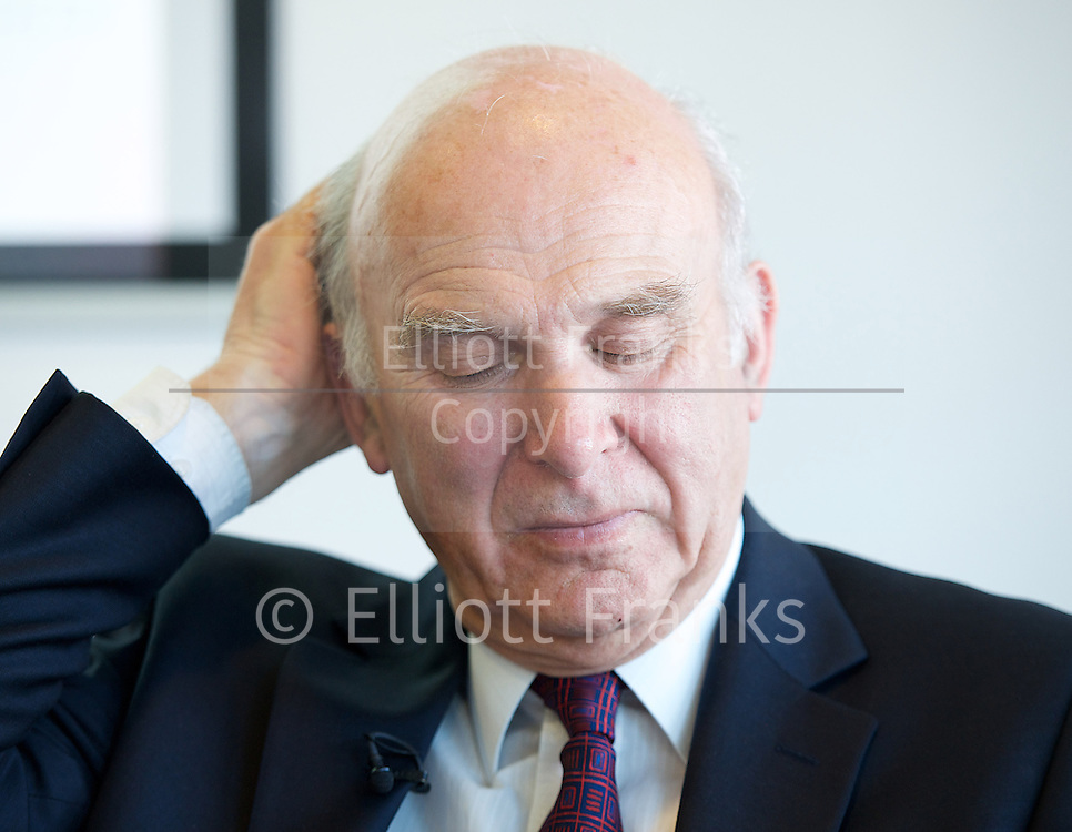 Rt Hon Vince Cable MP<br /> speaking at a Resolution Foundation meeting entitled &quot;Building a shared recovery - lessons from the downturn&quot; in London, Great Britain <br /> 14th May 2014 <br /> <br /> <br /> Vince Cable is a Liberal Democrat politician who is the Secretary of State for Business, Innovation and Skills in the coalition government. <br /> <br /> Gavin Kelly is CEO at Resolution Foundation<br /> <br /> Alison Wolf CBE is a British economist, and the Sir Roy Griffiths Professor of Public Sector Management at King&rsquo;s College London.<br /> <br /> Paul Johnson <br /> <br /> Patrick Wintour is the chief political editor at The Guardian