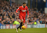 Leyton Orient Midfielder Jobi McAnuff during the Sky Bet League 2 match between Portsmouth and Leyton Orient at Fratton Park, Portsmouth, England on 6 February 2016. Photo by Adam Rivers.