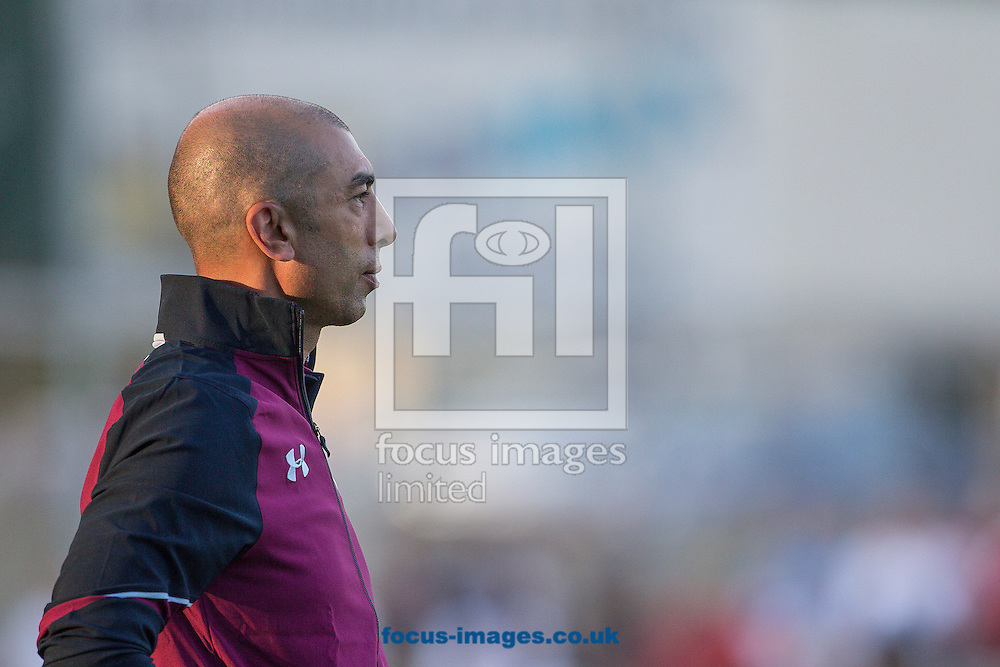 Roberto Di Matteo, manager of Aston Villa during the pre season friendly match at Sportcentre Weinzoedl, Graz, Austria.<br /> Picture by EXPA Pictures/Focus Images Ltd 07814482222<br /> 09/07/2016<br /> *** UK &amp; IRELAND ONLY ***<br /> EXPA-IES-160709-0038.jpg