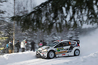 MOTORSPORT - WORLD RALLY CHAMPIONSHIP 2011 - RALLY SWEDEN / RALLYE DE SUEDE - 10 TO 13/02/2011 - KARLSTAD (SWE) - PHOTO : DPPI - <br /> 06 MADS OSTBERG / JONAS ANDERSSON - FORD FIESTA RS WRC - M-SPORT STOBART FORD WORLD RALLY TEAM - ACTION