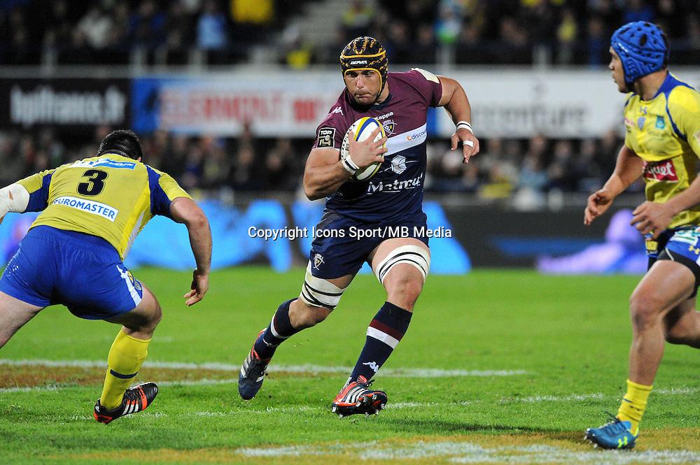 Berend Botha  - 13.03.2015 - Clermont / Begles Bordeaux  -  20eme journee de Top 14<br /> Photo : Jean Paul Thomas  / Icon Sport<br /> <br />   *** Local Caption ***