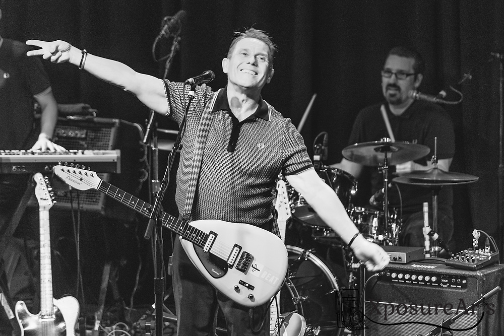 Dave Wakeling of The English Beat performs at  The Independent in San Francisco, CA.