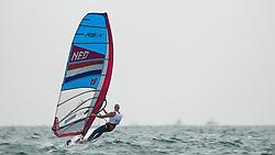 2012 Olympic Games London / Weymouth<br /> RSX man racing day 1<br /> RS:X MenDENFleischer Sebastian