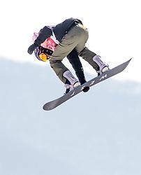 19.02.2018, Alpensia Ski Jumping Centre, Pyeongchang, KOR, PyeongChang 2018, Snowboard, Damen, Big Air, im Bild Elena Koenz (SUI) // Elena Koenz of Switzerland during the Ladies Snowboard Big Air of the Pyeongchang 2018 Winter Olympic Games at the Alpensia Ski Jumping Centre in Pyeongchang, South Korea on 2018/02/19. EXPA Pictures © 2018, PhotoCredit: EXPA/ Johann Groder