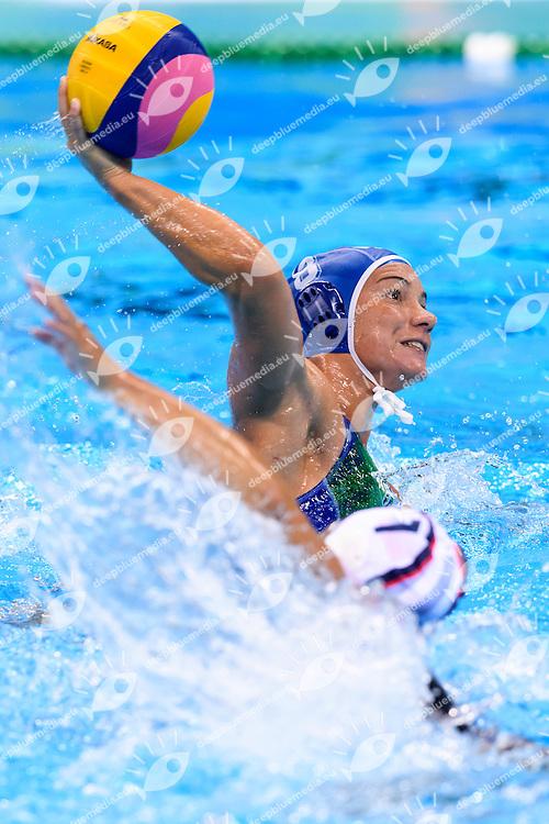 BIANCONI Roberta ITALIA <br /> Rio de Janeiro 19-08-2016 Olympic Aquatics Stadium  - Water Polo <br /> USA - ITALY Final <br />  Foto Andrea Staccioli/Deepbluemedia/Insidefoto