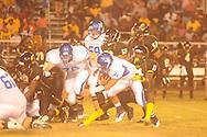 Water Valley's E.J. Bounds (5) vs. Charleston in Charleston, Miss. on Friday, September 14, 2012. Charleston won.