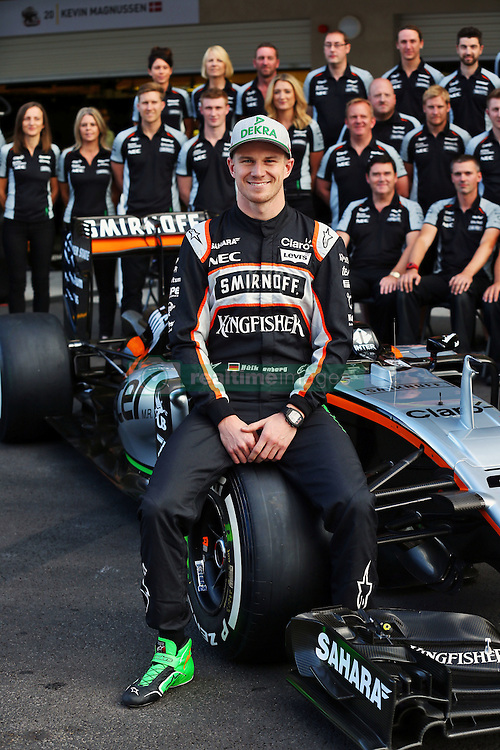 Nico Hulkenberg (GER) Sahara Force India F1 at a team photograph.<br /> 29.10.2016. Formula 1 World Championship, Rd 19, Mexican Grand Prix, Mexico City, Mexico, Qualifying Day.<br /> Copyright: Moy / XPB Images / action press