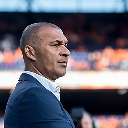 09.06.2017, De Kuip Stadium, Rotterdam, NED, FIFA WM 2018 Qualifikation, Niederlande vs Luxemburg, Gruppe A, im Bild Ruud Gullit of Netherlands // Ruud Gullit of Netherlands during the FIFA World Cup 2018, group A qualifying match between Netherlands and Luxemburg at the De Kuip Stadium in Rotterdam, Netherlands on 2017/06/09. EXPA Pictures © 2017, PhotoCredit: EXPA/ Focus Images/ Joep Joseph Leenen<br /> <br /> *****ATTENTION - for AUT, GER, FRA, ITA, SUI, POL, CRO, SLO only*****