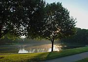 Morning at Lincoln Park Lake, Kettering, Ohio