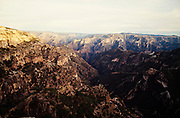 Copper Canyon at sunrise.