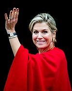 AMSTERDAM - queen Maxima King Willem-Alexander hands out the Erasmus Prize in the Royal Palace to the American journalist and writer Barbara Ehrenreich. copyrught robin utrecht