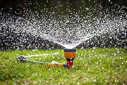Sprinkler attachment on hosepipe