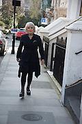 LUCIA VAN DE POST, Kensington. London. 17 March 2016