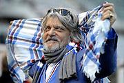 © Filippo Alfero<br /> Torino-Sampdoria, Serie A 2014/2015<br /> Torino, 01/02/2015<br /> sport calcio<br /> Nella foto: Massimo Ferrero