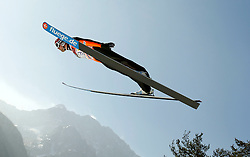 17.03.2012, Planica, Kranjska Gora, SLO, FIS Ski Sprung Weltcup, Team Skifliegen, im Bild Anssi Koivuranta (FIN),  during the FIS Skijumping Worldcup Flying Hill Team, at Planica, Kranjska Gora, Slovenia on 2012/03/17. EXPA © 2012, PhotoCredit: EXPA/ Oskar Hoeher.