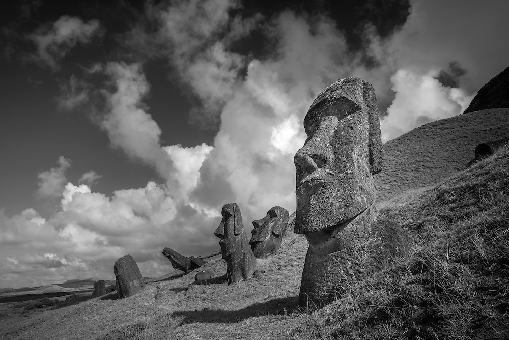 South America; Chile; Easter Island; Isla de Pasqua,south pacific; UNESCO, World Heritage