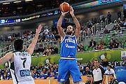 LUBIANA EUROBASKET 2013 19 SETTEMBRE 2013<br /> NAZIONALE ITALIANA MASCHILE<br /> LITUANIA VS ITALIA<br /> NELLA FOTO: LUIGI DATOME<br /> FOTO CIAMILLO