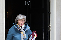 2019-03-13 Theresa May leaves for PMQs