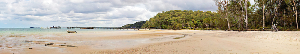 Kingfisher Bay, Fraser Island, Queensland, Australia.