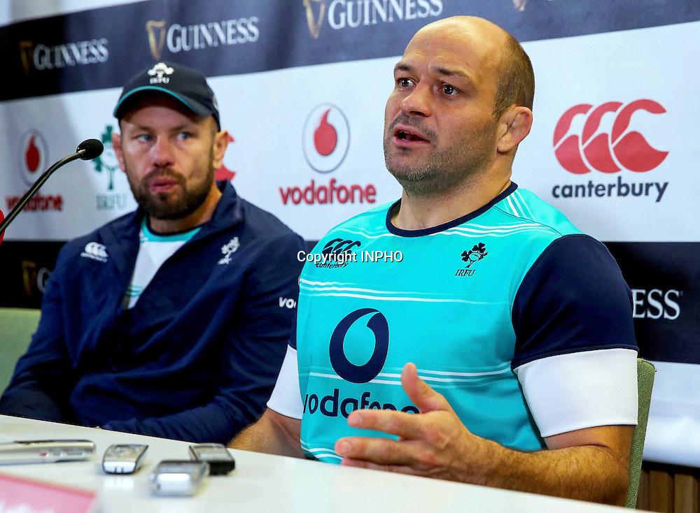 Ireland Rugby Press Conference, Aviva Stadium, Dublin 18/11/2016<br /> Rory Best <br /> Mandatory Credit &copy;INPHO/Oisin Keniry
