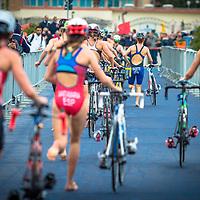 08/05/2016 - Elite Women race, 2016 Cagliari ITU Triathlon World Cup -