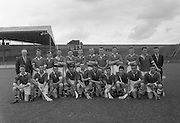 Neg No: A484/03-07...1957AIJHCF2.08.09.1957, 09.08.1957, 8th September 1957...All Ireland Junior Hurling Championship - Home Final..Limerick.07-15.Galway.05-08...Limerick. ..G. Casey (goal), T. O Donnell (Captain), P. OConnor, T. ODwyer, D. McCarthy, J. Dooley, J. Nealon, L. Hogan, M. Savage, M. OShea, J. Shanahan, M. Sheehan, P. Ryan, J. Enright, J. Barry.Sub.: Dick McGrath.T. O Donnell (Captain).G. Casey (goal)....