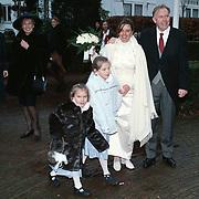Huwelijk Patricia van den Broek en Eric,
