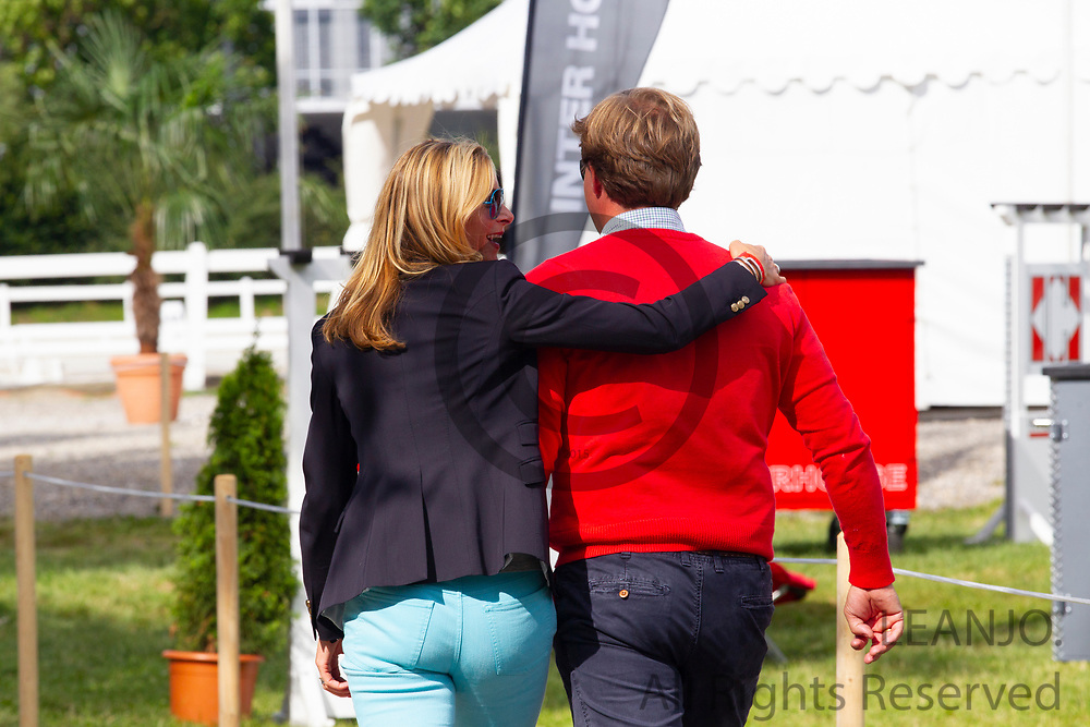 Sven Rothenberger en Gonnelien Rothenberger<br /> FEI European Championships Juniors and Young Riders 2012<br /> © DigiShots