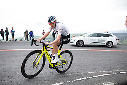 Anna Christian (GBR) of Drops Cycling Team climbs on Black Mountain on Stage 6 of 2019 OVO Women's Tour, a 125.9 km road race from Carmarthen to Pembrey, United Kingdom on June 15, 2019. Photo by Balint Hamvas/velofocus.com