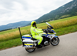 Police during 4th Stage of 26th Tour of Slovenia 2019 cycling race between Nova Gorica and Ajdovscina (153,9 km), on June 22, 2019 in Slovenia. Photo by Vid Ponikvar / Sportida