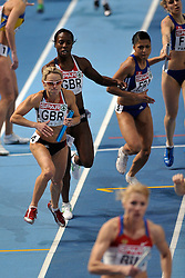 06-03-2011 ATHELETICS: EUROPEAN ATHLETICS INDOOR CHAMPIONSHIPS: PARIS<br /> European Athletics Indoor Championships Paris / MEADOWS Jennifer GBR<br /> © Ronald Hoogendoorn Photography