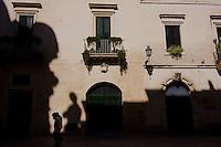 Lecce, palazzi in via Umberto I