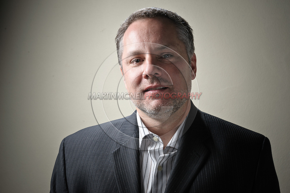 A portrait of Marshall Zelaznik,  UFC VP of International Affairs