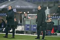 (L-R) coach *John van den Brom* of AZ Alkmaar, coach *John van t Schip* of PEC Zwolle