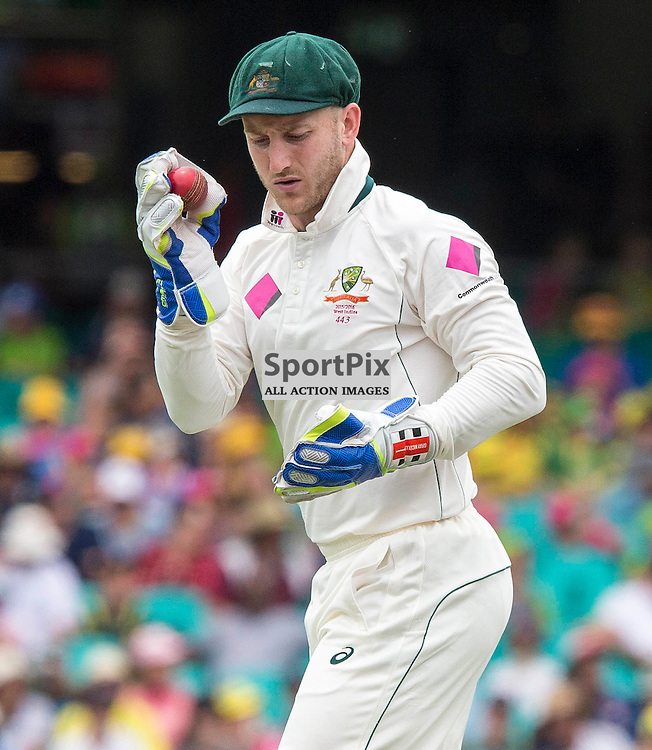 3rd Test Match 2015-16 Day 1, Australia v West Indies, Sydney Cricket Ground; 3 January 2016<br /> Australian Peter Nevill (WK)